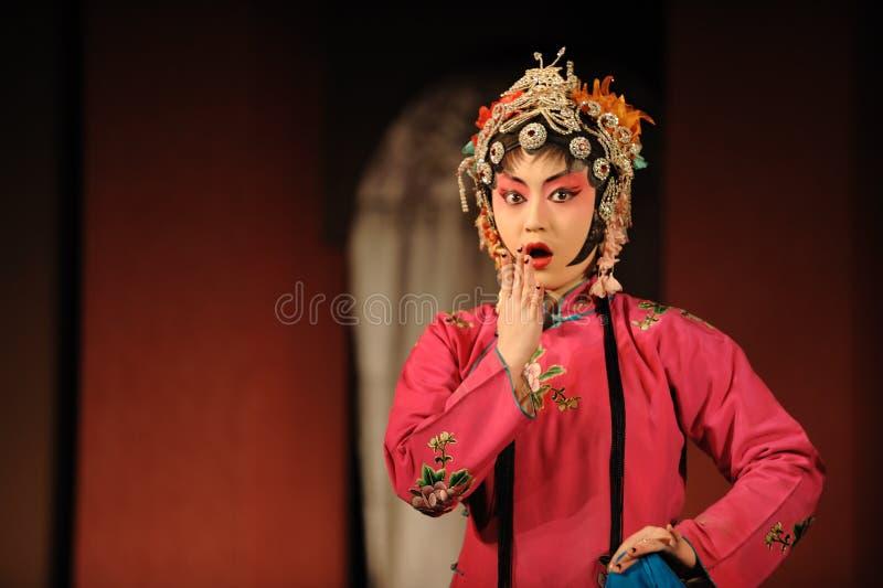 Der Schauspielerin der China-Oper stockfotos