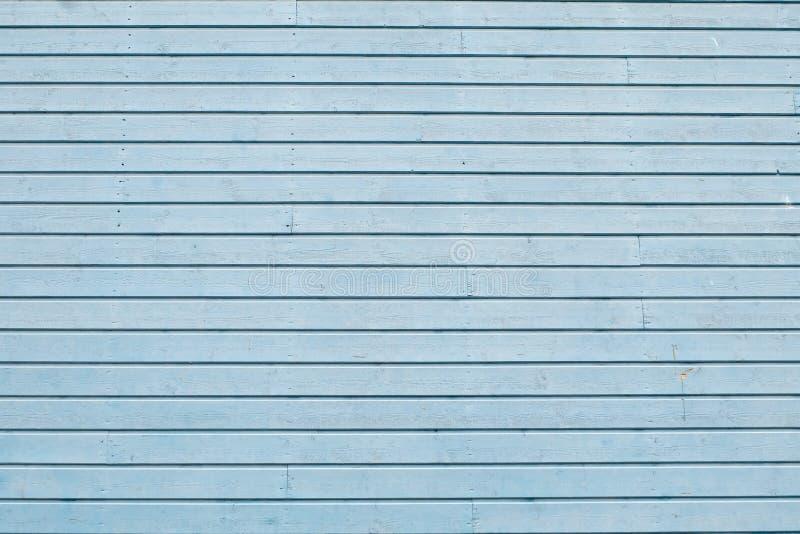 Der Schmutz, welche Blau gemalter Eiche abzieht, verschalt Hintergrund stockbild