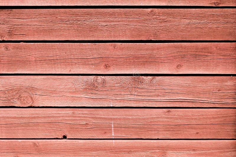Der Schmutz, welche Rot gemalter Eiche abzieht, verschalt Hintergrund stockbilder