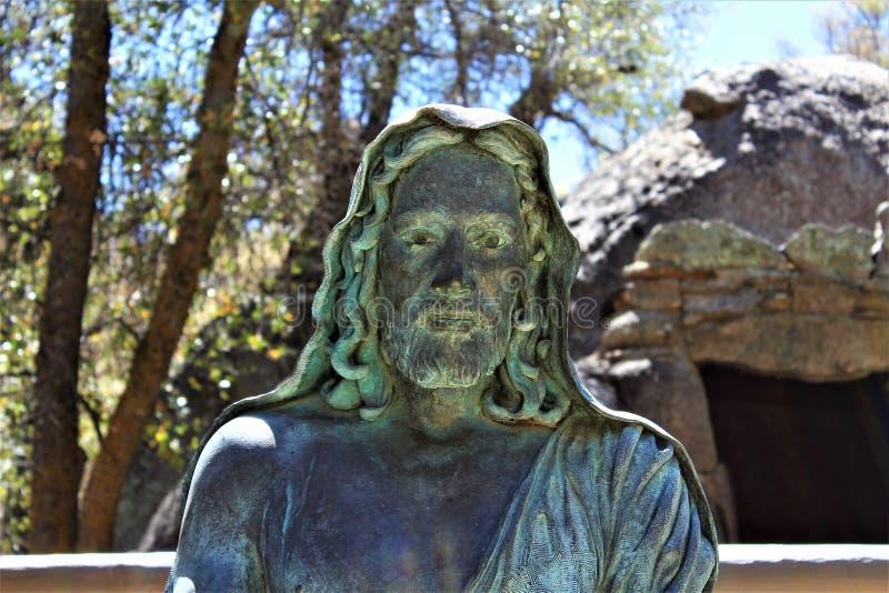 Der Schrein von Saint Joseph der Berge, Yarnell, Arizona, Vereinigte Staaten stockfotos