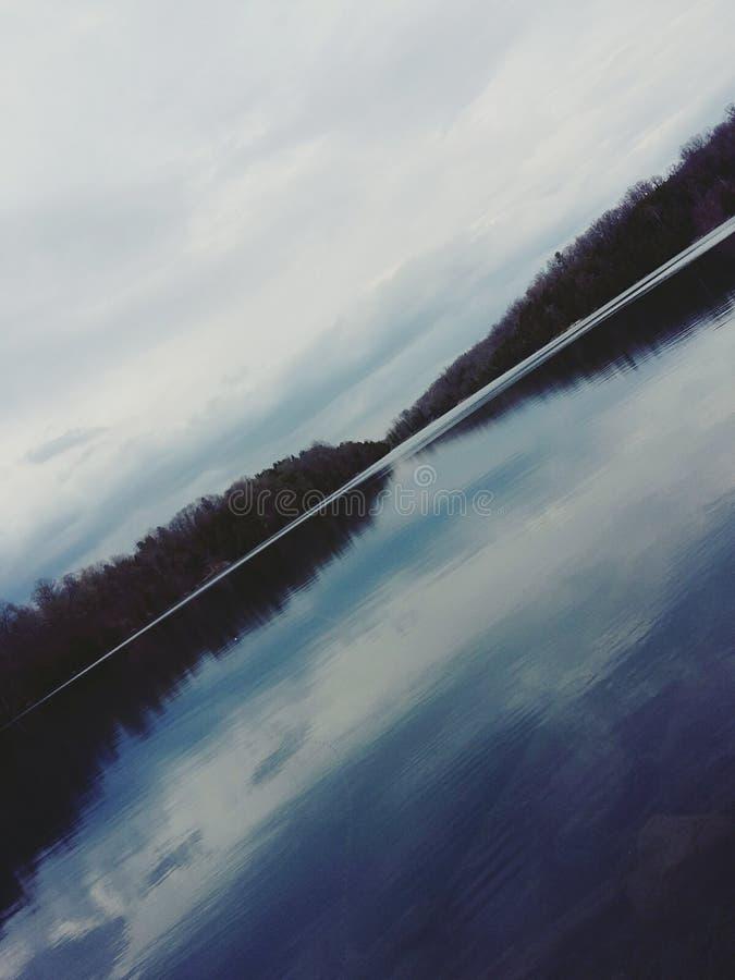 Der See stockfotos