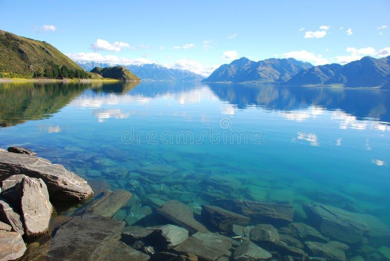 Der See stockbilder