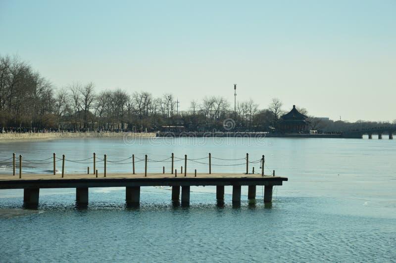 Der See im Sommer-Palast stockfoto