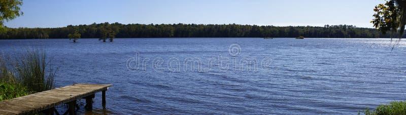 Der See Talquin-Nationalpark und Forest Tallahassee, Florida stockbilder