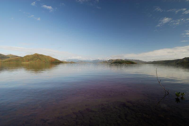 Der See von yate stockfotografie