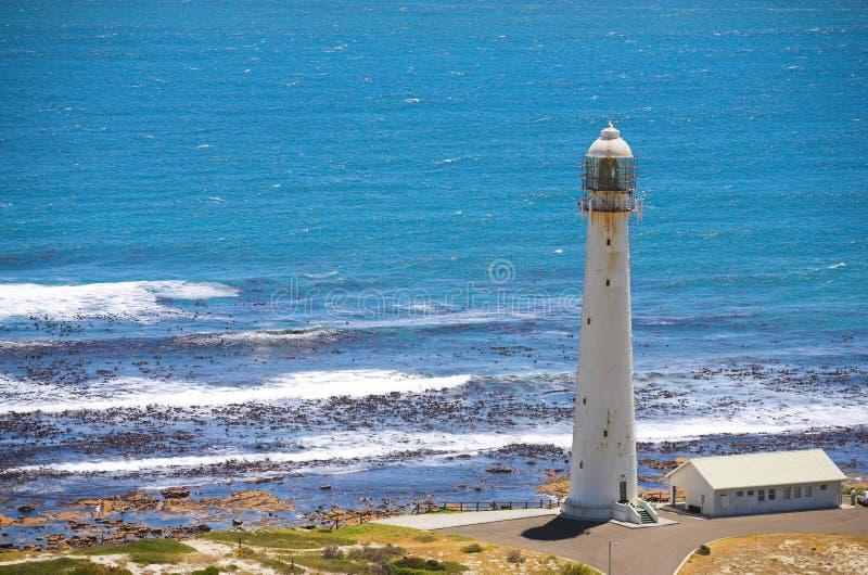 Der Slangkop Leuchtturm stockfotos