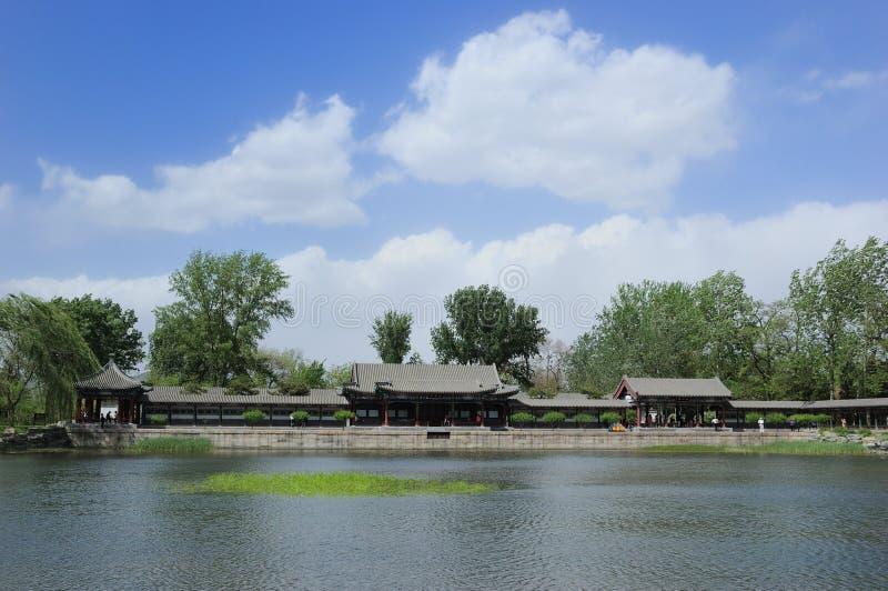 Der Sommer-Palace See lizenzfreies stockbild