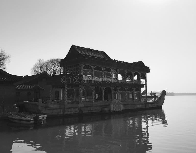 Download Der Sommer-Palast In Peking China Stockfoto - Bild von boot, haus: 90226360