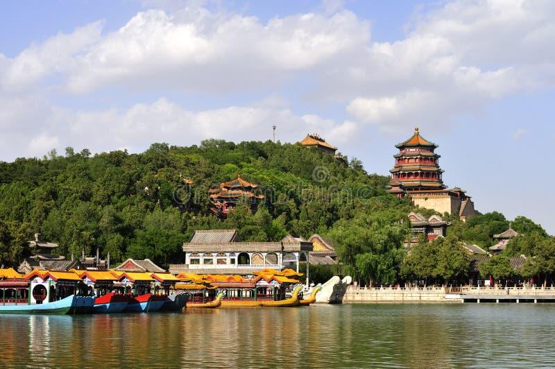 Der Sommer-Platz in Peking lizenzfreie stockfotografie