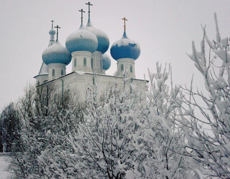 Der Sretensky-Tempel Arkhangelsk, der Norden lizenzfreie stockbilder
