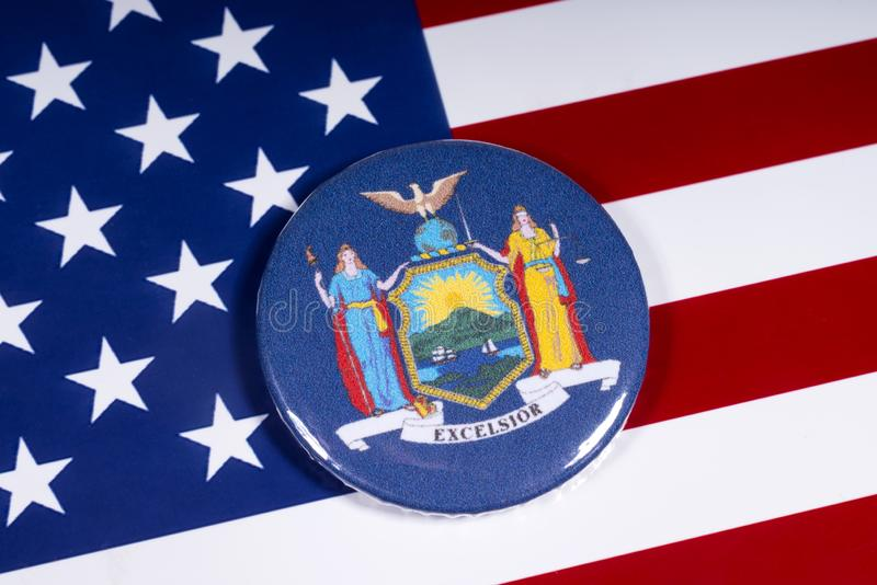 Der Staat New York lizenzfreies stockbild