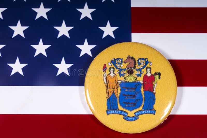 Der Staat von New-Jersey in den USA stockbilder