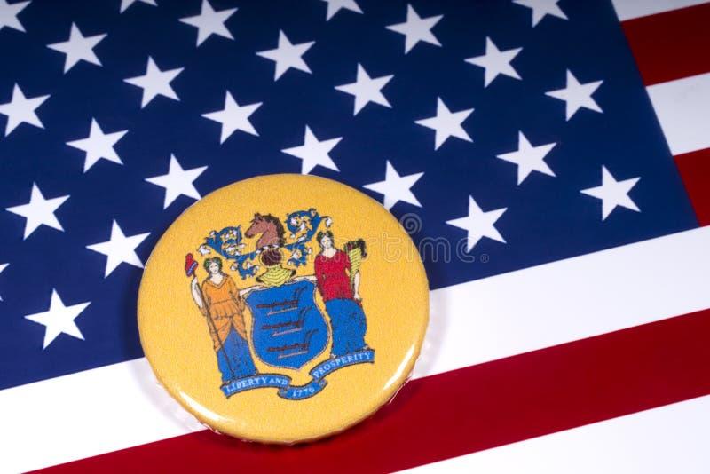 Der Staat von New-Jersey in den USA lizenzfreie stockfotos