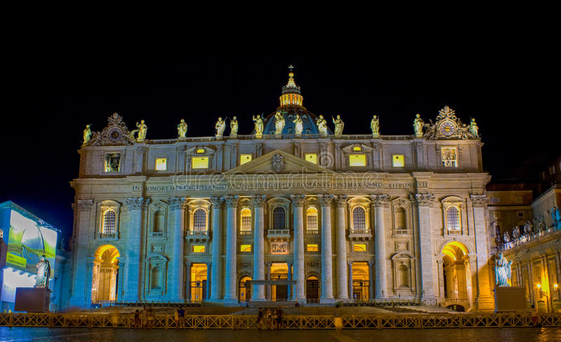Der Stadtstaat Vatikan stockfoto