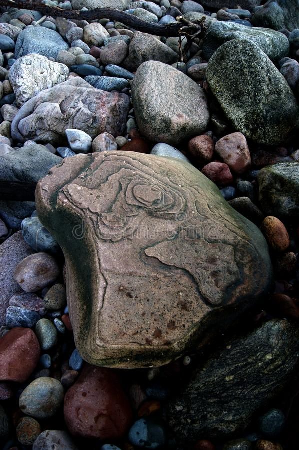 Download Der Stein auf dem Strand stockfoto. Bild von polen, groß - 90234130