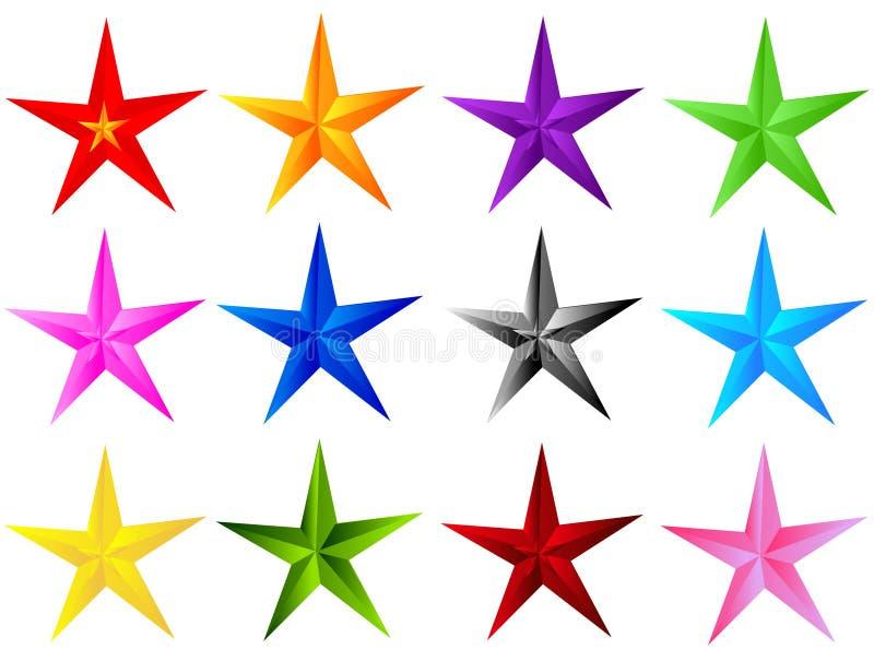 Der Stern 02 lizenzfreie abbildung