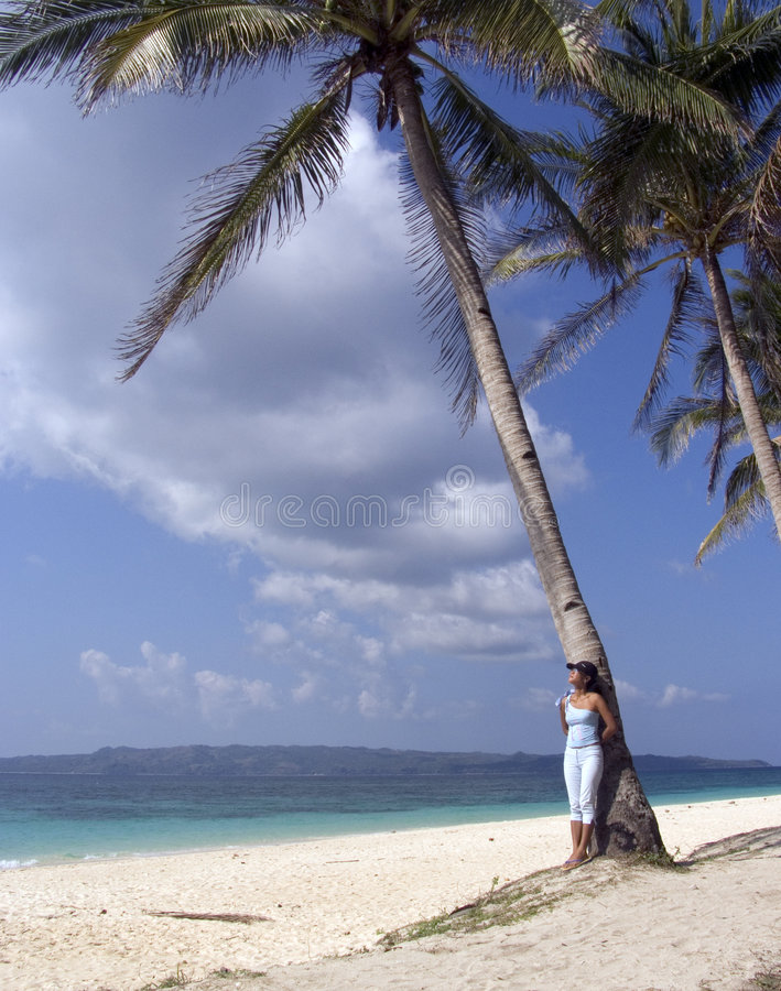 Der Strand 8 stockbild