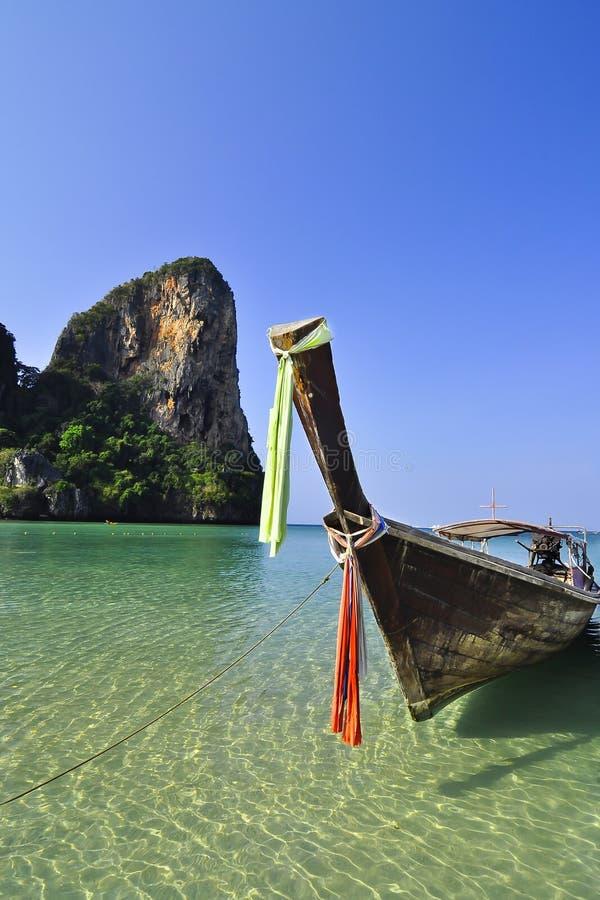 Der Strand in Railay Insel lizenzfreies stockbild