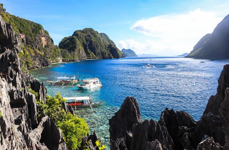 Der Strand von EL Nido, Philippinen stockfoto