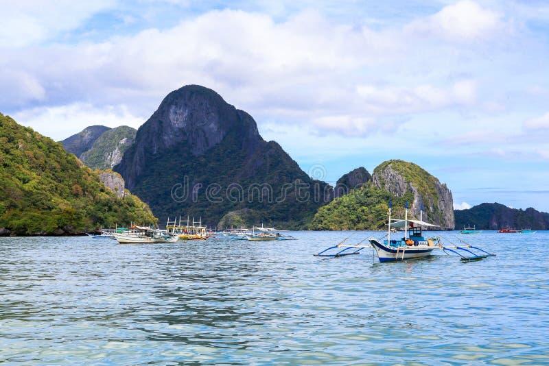Der Strand von EL Nido, Philippinen stockfotos