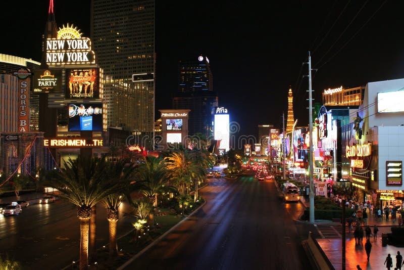 Der Streifen, Las Vegas stockbilder