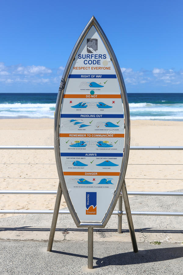 Der Surfercode lizenzfreies stockfoto