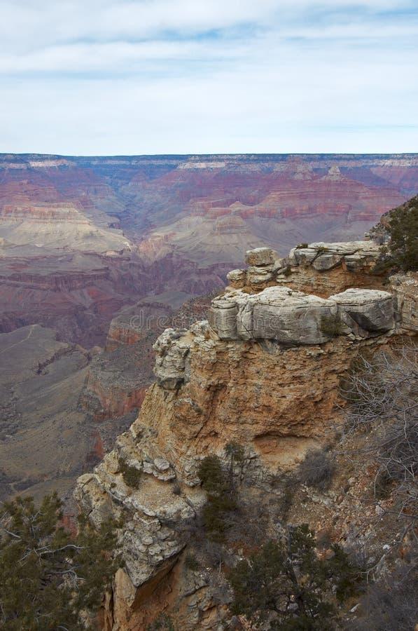 Der szenische Grand Canyon übersehen stockbild