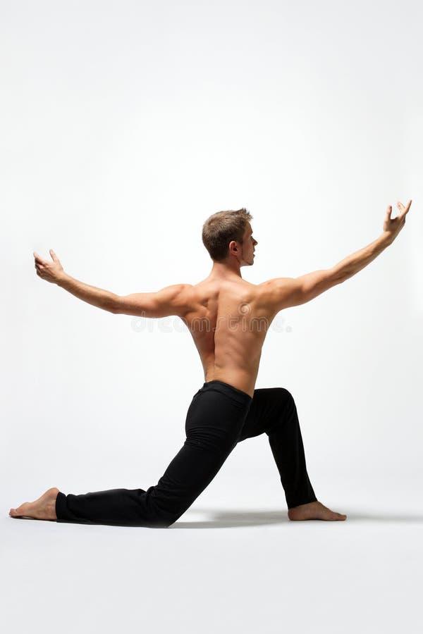 Der Tänzer lizenzfreie stockbilder
