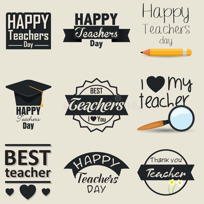 Der Tag der Lehrer stockfotos