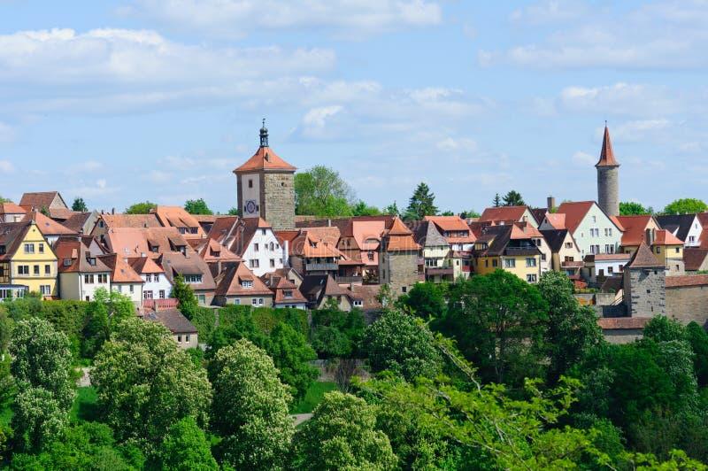 Der tauber alemania del ob de rothenburg foto de archivo - Rothenburg ob der tauber alemania ...
