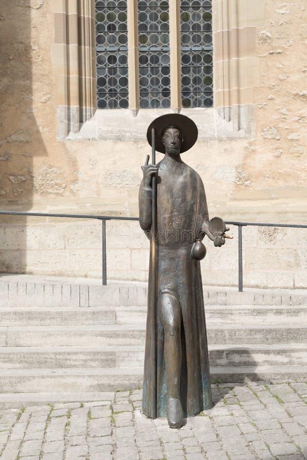 Der Tauber del ob de Rothenburg fotografía de archivo