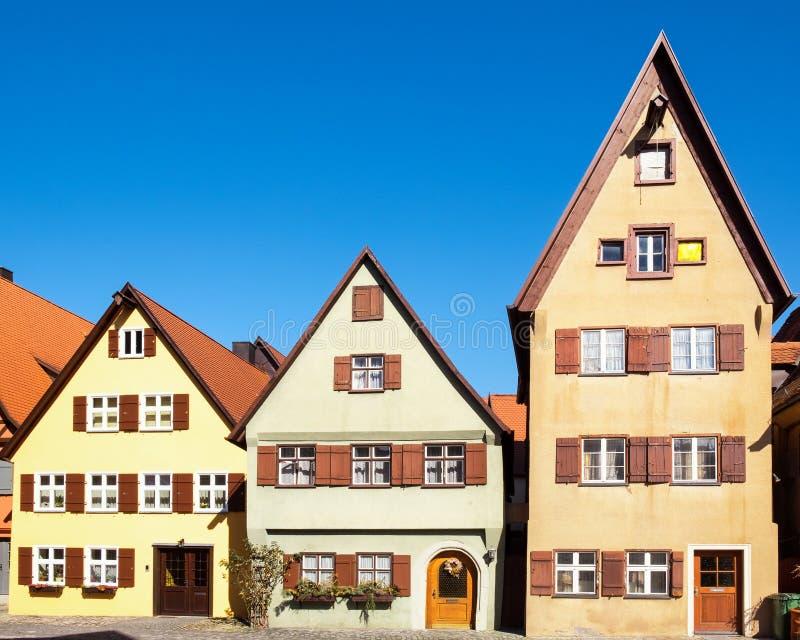 Der Tauber del ob di Rothenburg fotografie stock libere da diritti