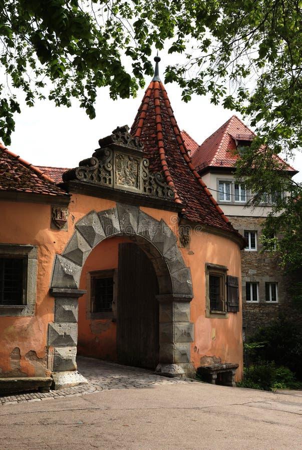 Der Tauber di Rothenburg ab immagine stock