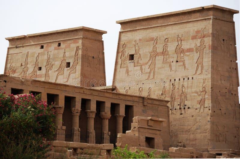 Der Tempel der Datei stockfotografie