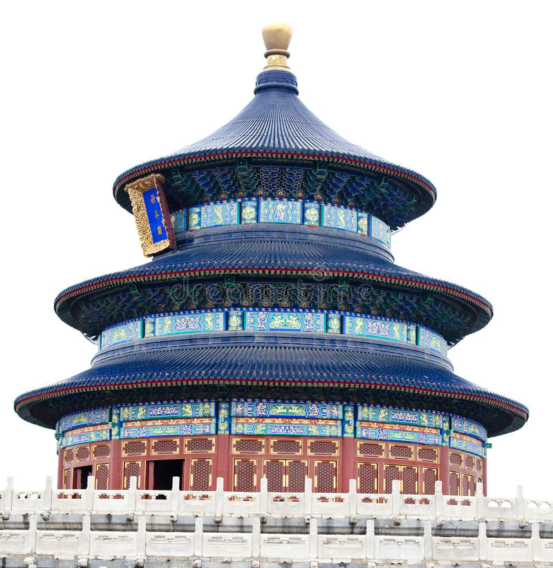 Der Tempel des Himmels in Peking lizenzfreies stockfoto