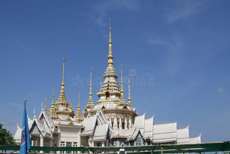 Der Tempel in Thailand lizenzfreie stockfotos