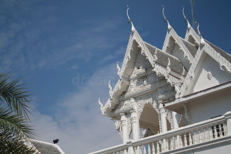 Der Tempel in Ubon Ratchathani, Thailand lizenzfreie stockfotos