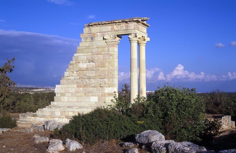 Der Tempel von Apollo stockbilder