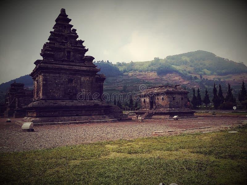 Der Tempel von Arjuna stockbilder
