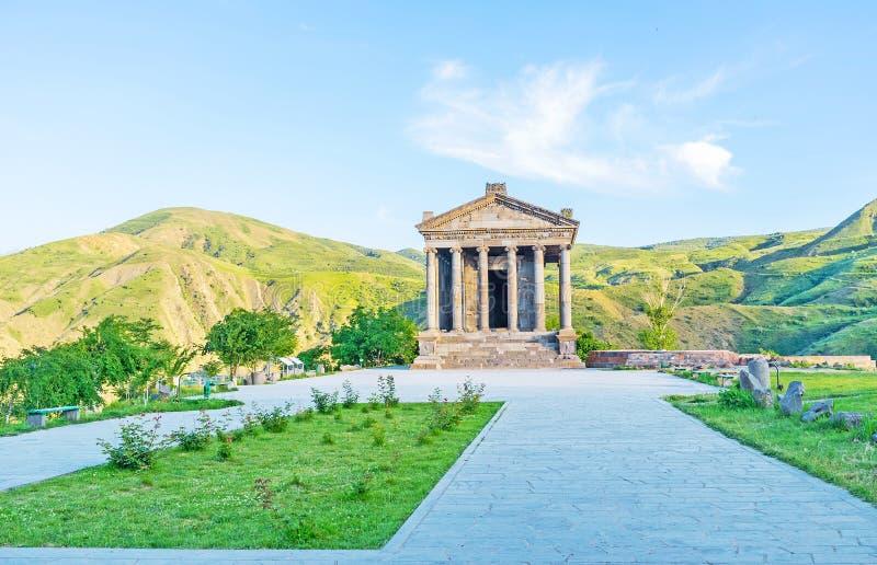 Der Tempel von Garni stockfoto