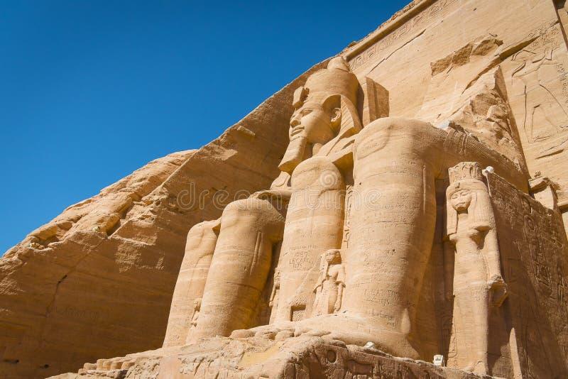 Der Tempel von Ramses II lizenzfreie stockfotos