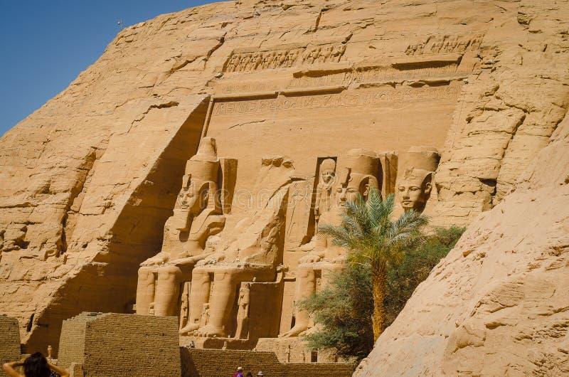 Der Tempel von Ramses II lizenzfreie stockbilder