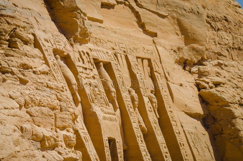 Der Tempel von Ramses II stockfotos