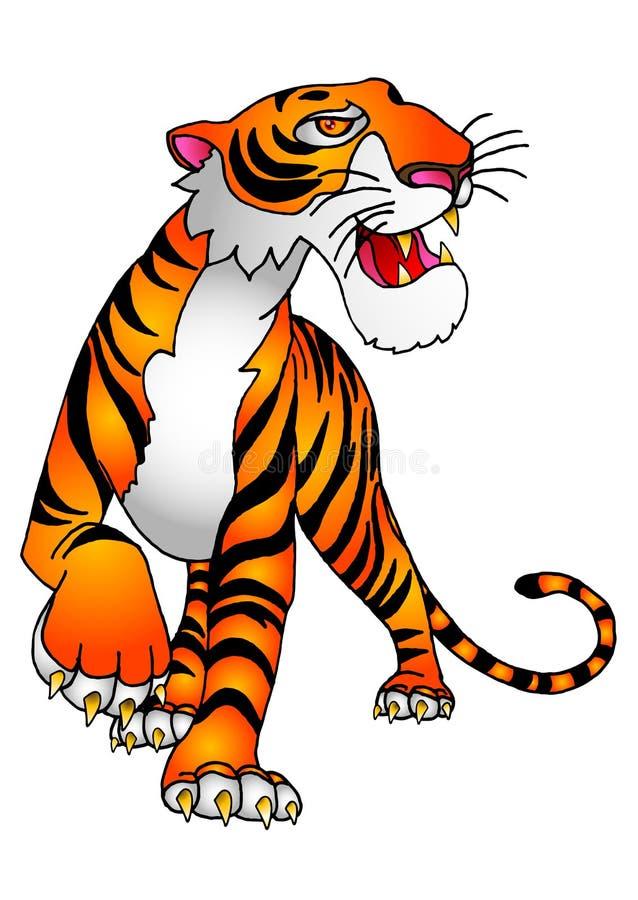 Der Tiger vektor abbildung
