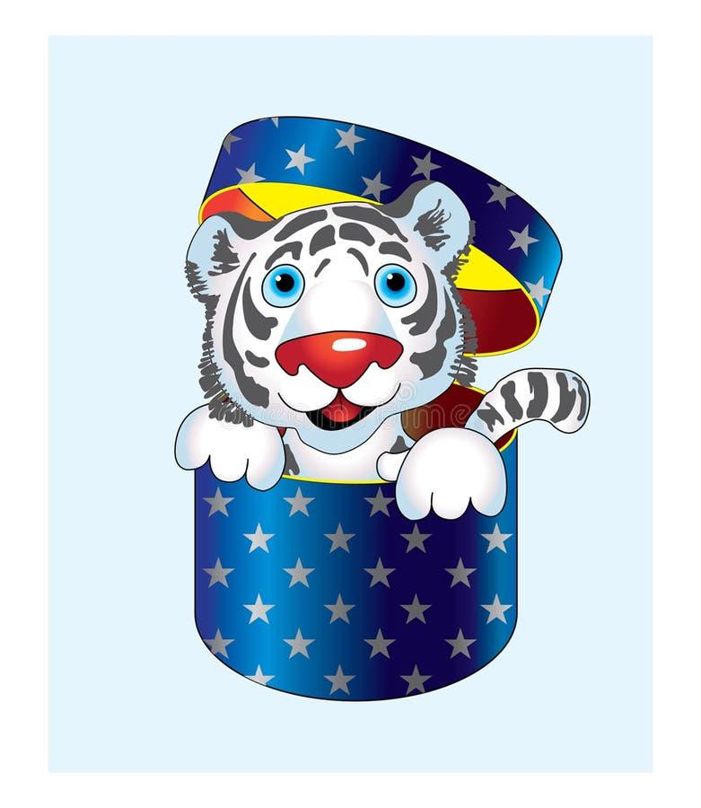 Der Tiger lizenzfreie stockbilder