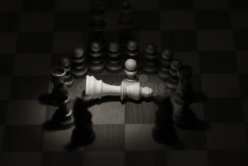 Der Tod 2 des Königs lizenzfreies stockfoto