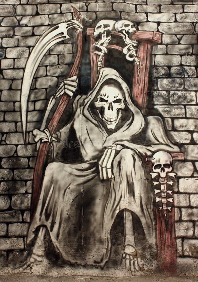 Der Tod stock abbildung