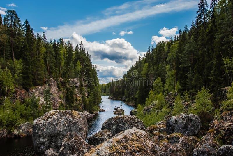 Der tote Wasserfall stockfoto