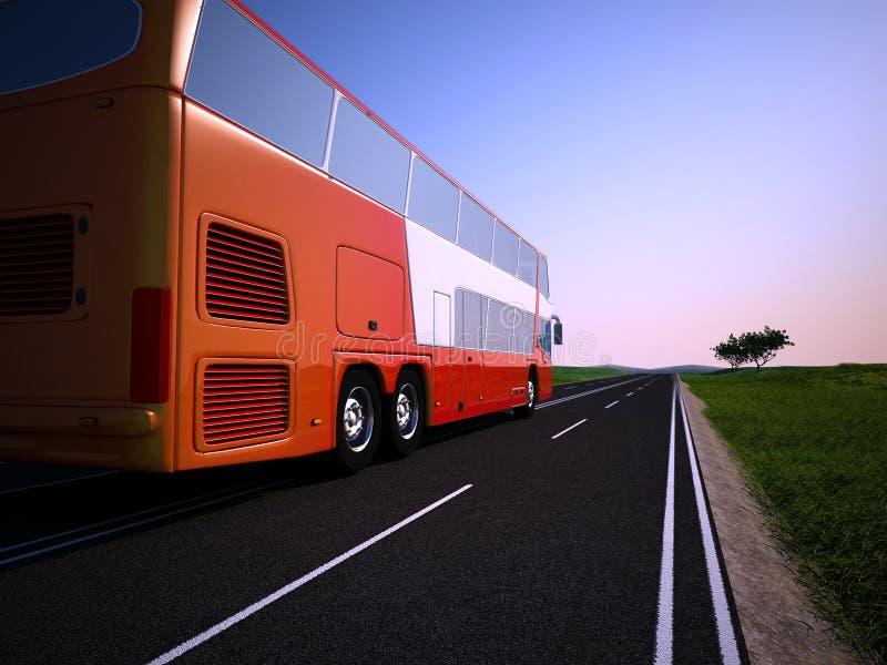 Der touristische Bus vektor abbildung