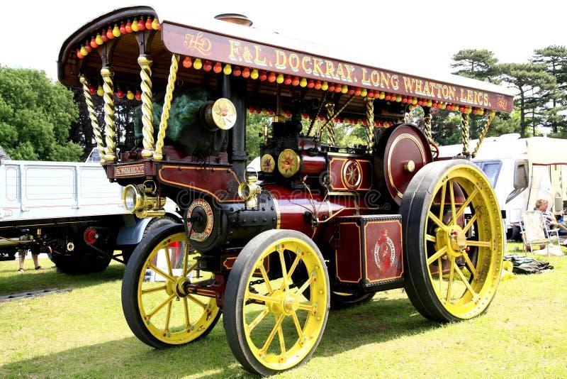 Der Traktor 1920 Weinlese-Wellington-Impresarios stockfotos